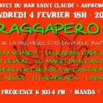 Raggapero en live  Aspremont !!