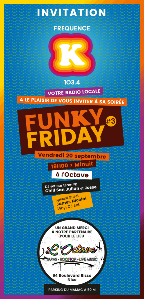 Funky Friday à L'Octave